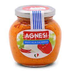 Agnesi Pesto Alla Calabrese Pasta Sauce