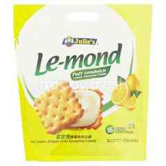 Julie's Le-mond Puff Sandwich (10 Pieces)