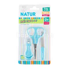 Natur Nail Care Set Blue