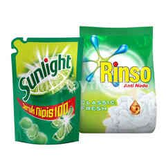 Unilever Sunlight and Rinso Classic Fresh Package