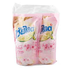 Sunlight Liquid Dish Washing Sakura Scent Pack