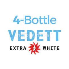 บี-เดลิเชียส สินค้าขายยกเซ็ท เบียร์วีเด็ด เอ็กซ์ตร้า ไวท์ 4 ขวด