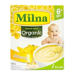 Milna Organic Baby Porridge Banana 6+