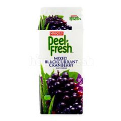 Marigold Peel Fresh Mixed Blackcurrant Cranberry Juice Drink