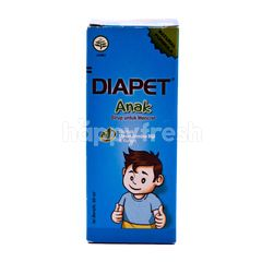 Diapet Diarrhea Syrup for Children with Guava Leaf and Turmeric