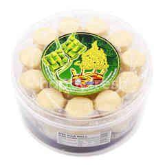 Suji Ball Cookies (Biskut Bola Suji)
