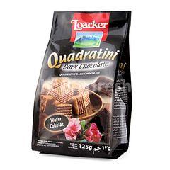 Loacker Quadratini Cokelat Hitam