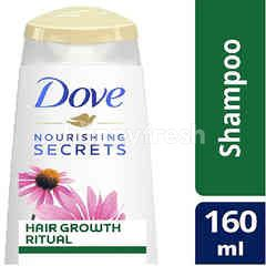 Dove Nourishing Secrets Hair Growth Ritual Shampoo with Cone Flower and White Tea
