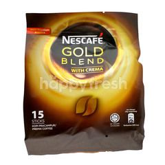 Nescafé Gold Blend With Crema Premix Coffee (15 Sticks)