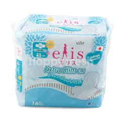 Elis Extra Slim 0.1 Napkins for Day 25 cm 16 Pcs