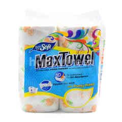 MAX TOWEL Feather Soft Kitchen Towel