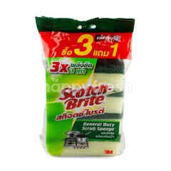 Scotch Brite General Duty Scrub Sponge