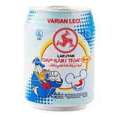 Larutan Cap Kaki Tiga Cooling Water for Kids with Lychee Flavor