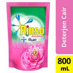 Rinso plus Molto Advance Foam Liquid Laundry Detergent Pink