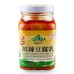 WEI JUNG Organic Fermented Spicy Bean Curd