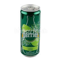 Perrier Lime Sparkling Mineral Water 330 ml