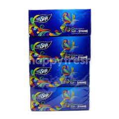 Feather Soft Classic White Facial Tissue