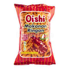 Oishi Shrimp Crackers with Spicy Flavor