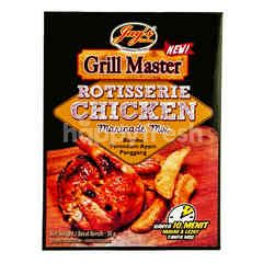 Jay's Kitchen Grill Master Rotisserie Chicken Marinade Mix