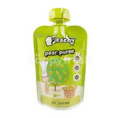 Peachy Pear Puree