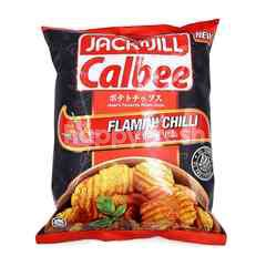 Jack N Jill Calbee Flamin Chilli Flavoured Potato Chips