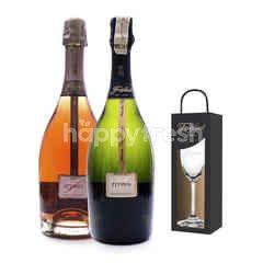 Freixenet Elyssia + Elyssia Pinot Noir Get Riedel Flute Glass Free