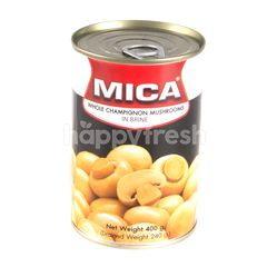 Mica Whole Mushrooms In Brine