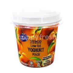 Tesco Low Fat Yoghurt - Peach