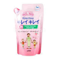 Kirei Kirei Foaming Hand Soap Moisturizing Peach