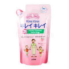 Kirei Kirei Foaming Hand Soap Moisturizing Peach