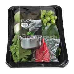 Pranprai Green Curry Vegetable Set