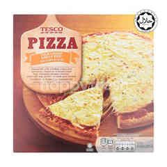 Tesco Four Cheese Pizza