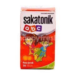 Sakatonik Food Supplement for Children Orange (30 tablets)
