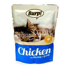 Burp! Pouch Chicken With Shrimp In Gravy 85g