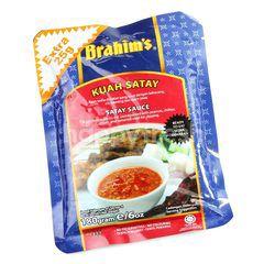 Brahim's Satay Sauce