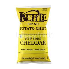 Kettle Brand Potato Chips New York Cheddar