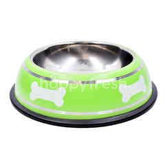 LOV PETS BAZAAR Bowl With Bone Printed - Medium Size