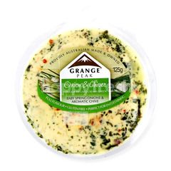 GRANCE PEAK Onion & Chives Infused Cream Cheese