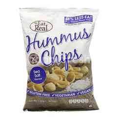 EAT REAL Hummus Chips Sea Salt Flavour