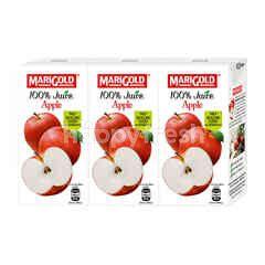 Marigold Uht 100% Apple Juice Drink (3X200Ml)