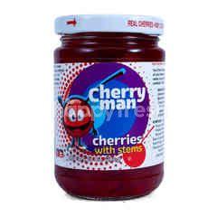 Cherry Man Buah Ceri Bertangkai