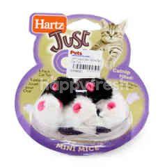 Hartz Mini Mice Cat Toy (5 Pieces)
