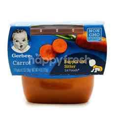 Gerber Carrot Puree Baby Food (2 Units)