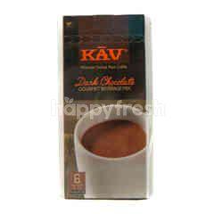 Kav Dark Chocolate Gourmet Beverage Mix Powder Drink