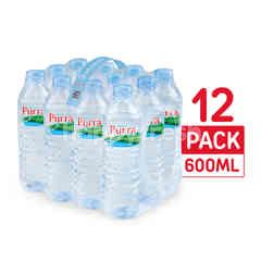 Purra' Natural Mineral Water 600 ml Pack