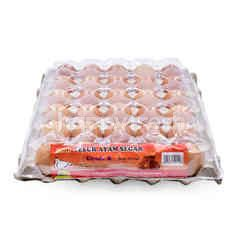 LKH Fresh Grade B Chicken Eggs (30 Pieces)