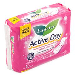 Laurier Active Day Super Maxi Non-Wing Pads