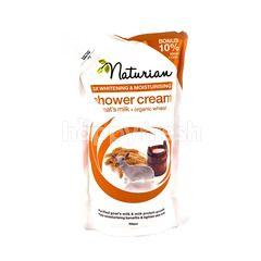 Naturian Shower Cream Goat's Milk + Organic Wheat