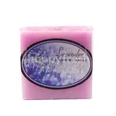 Lavender Scented Square Candle