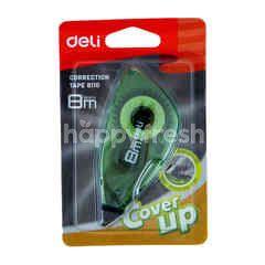 Deli Correction Tape 8110 Warna Hijau
